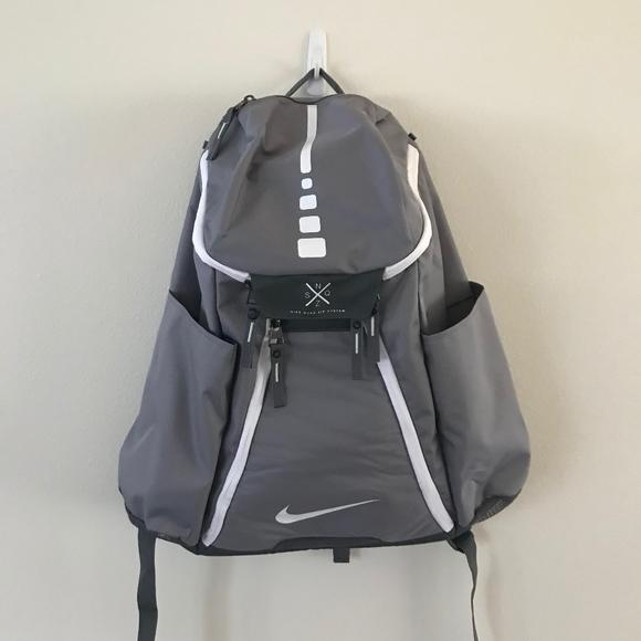 Grey Nike Quad Zip System Backpack